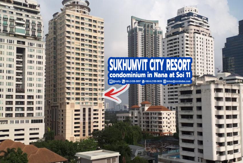 Sukhumvit City Resort condominium 3 - REMAX CondoDee