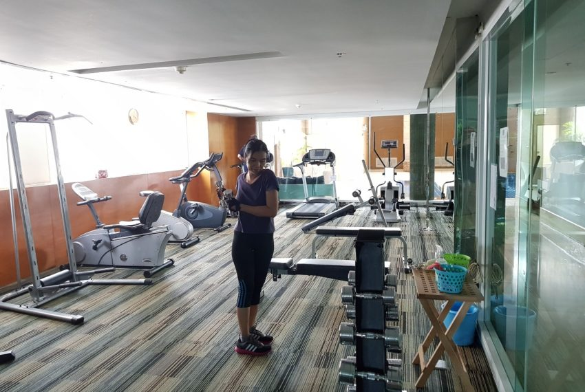 Sukhumvit City Resort fitness gym 01