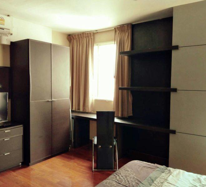 Sukhumvit-City-Resort-sell-1bed-high-floor-bedroom
