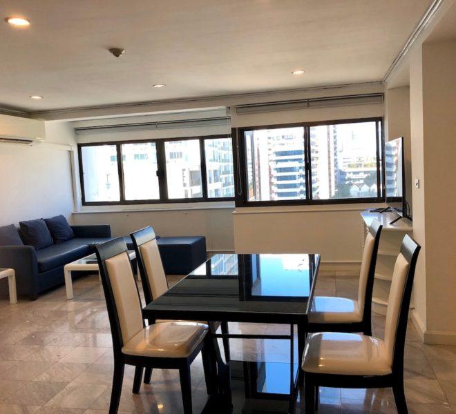 Sukhumvit House condo near Asoke BTS - Rent 2 bedroom - dining