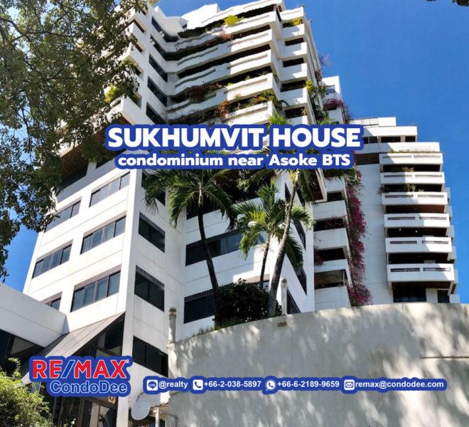 Sukhumvit House Condominium near Asoke BTS