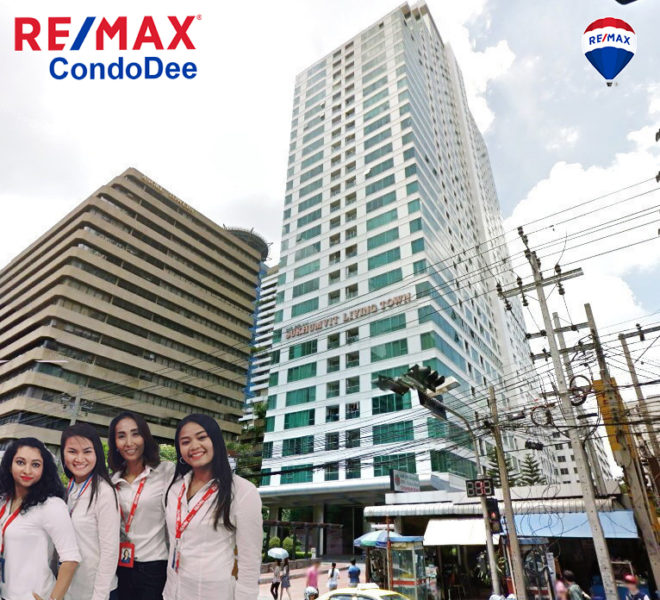 Sukhumvit Living Town Condominium in Asoke Condo near MRT