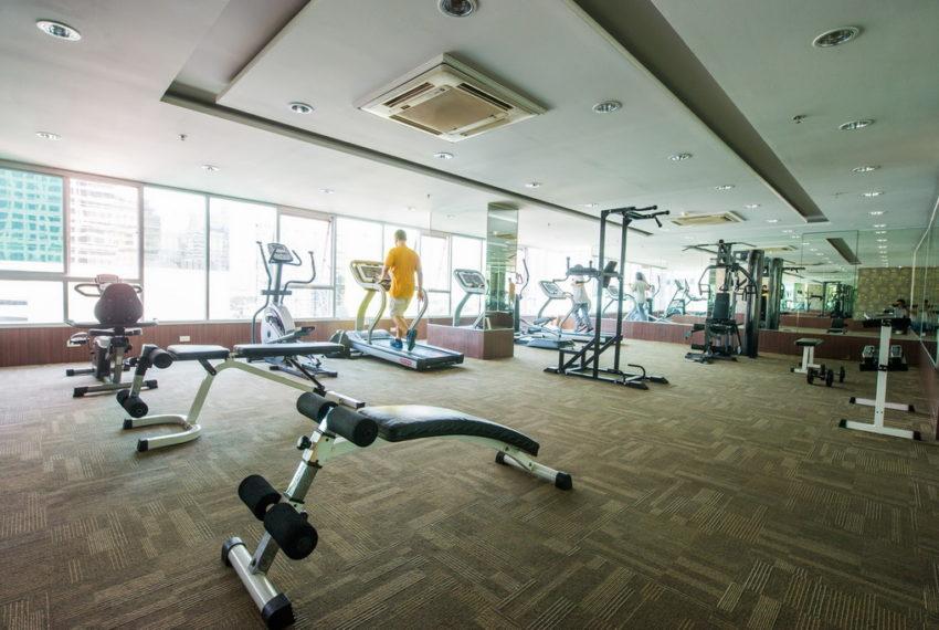 Sukhumvit Living Town in Asoke - fitness