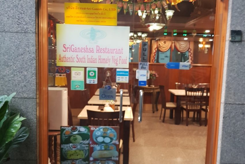 Sukhumvit Suite Condominium - Indian restaurant onsite