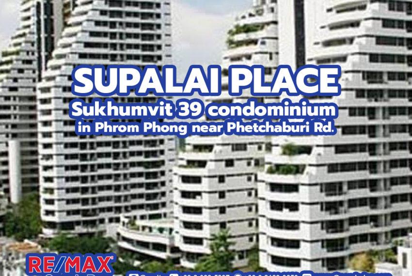 Supalai Place Sukhumvit 39 - REMAX CondoDee