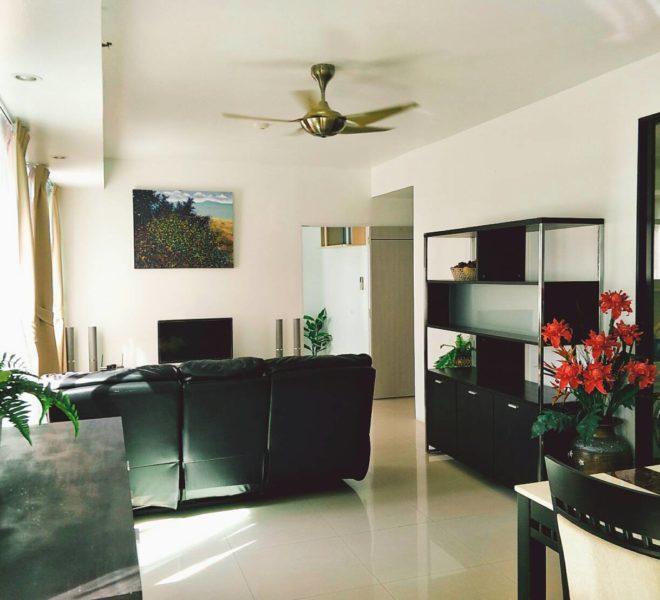 Large 2-bedroom condo for sale near University - low floor - Supalai Premier Place Asoke