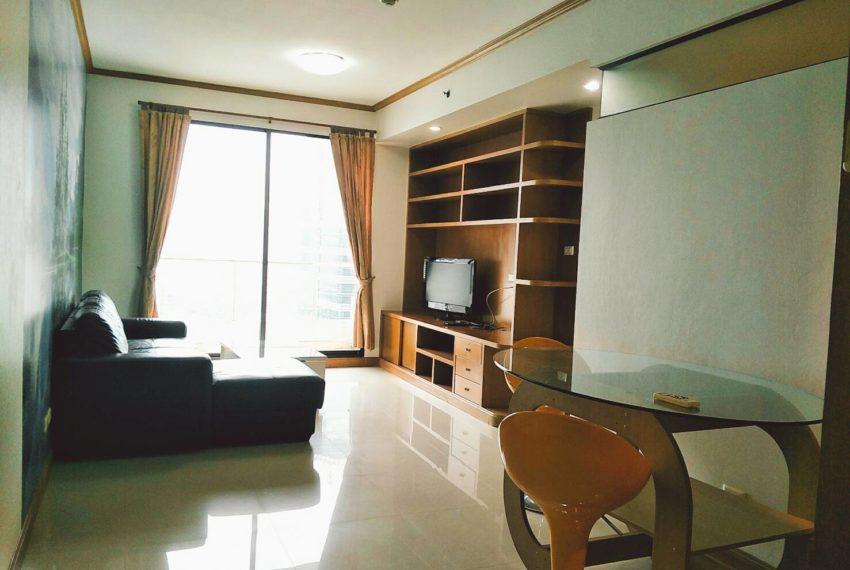 Supalai Premier Place Asoke 2-bedrooms Sale - living