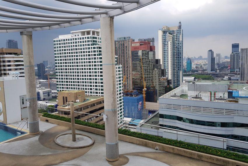 Supalai Premier Place Asoke - roof view