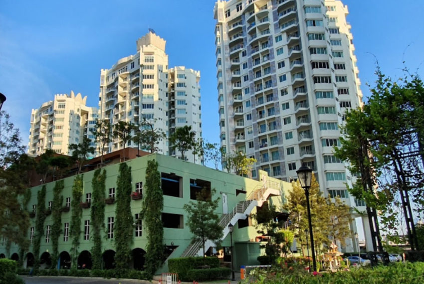 Supalai Wellington - entrance
