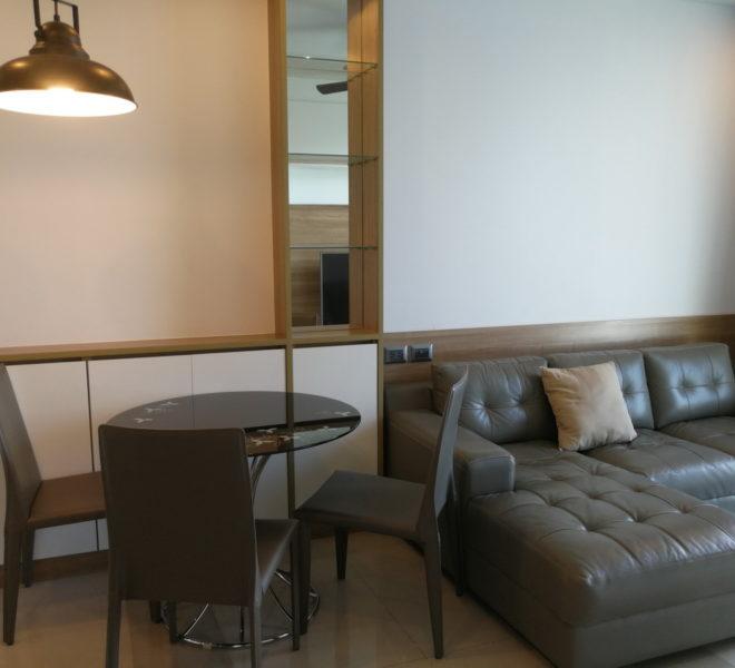 1 bedroom condo for rent at Rama 9 - mid floor - Supalai Wellington condominium
