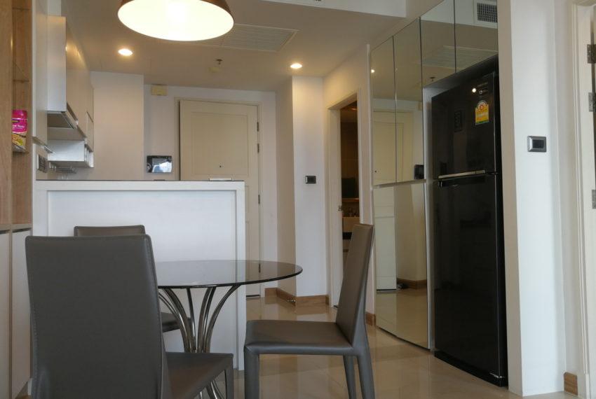 1 bedroom flat for rent at Rama 9 - mid floor - Supalai Wellington condominium