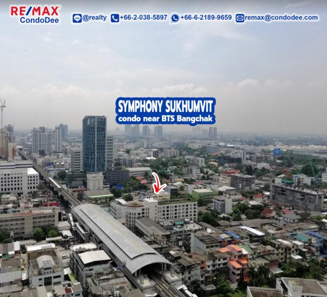 Symphony Sukhumvit Condominium Near BTS Bang Chak