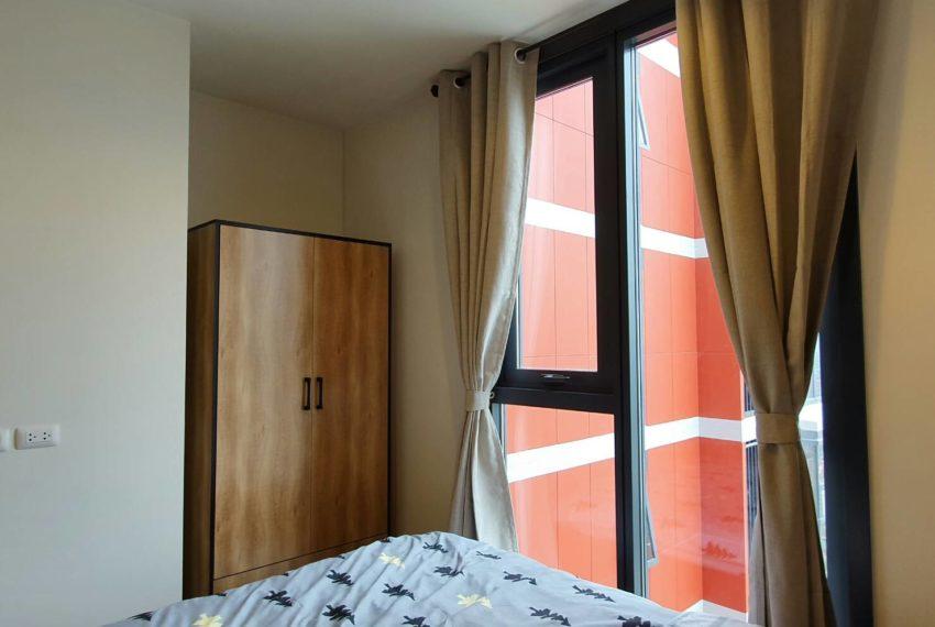 THE BASE Garden Rama9-Rent-bedroom1