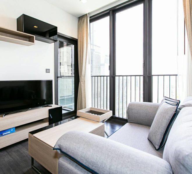 Rent Top Floor Cheap Condo in The Line Asoke Ratchada