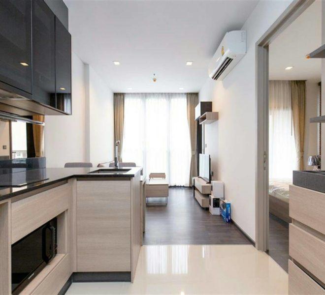 Rent Low Floor Cheap Condo in The Line Asoke Ratchada
