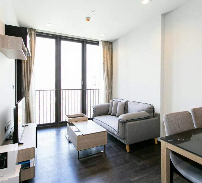 Rent High Floor Cheap Condo in The Line Asoke Ratchada