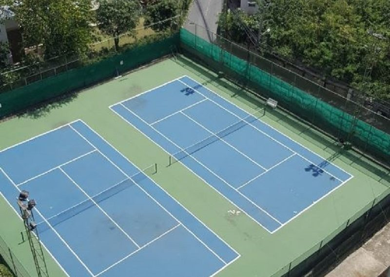 Tai Ping Towers condo in Ekkamai - tennis court