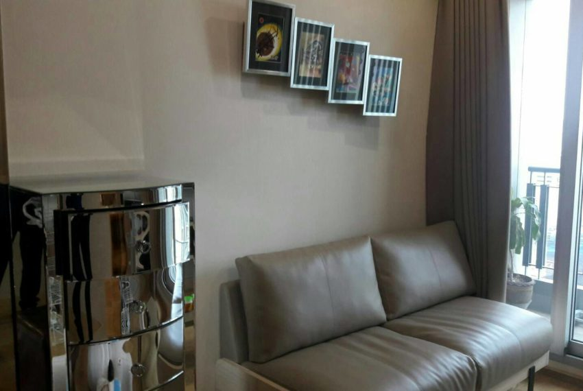 The Address Asoke - 1 bedroom-sale-living