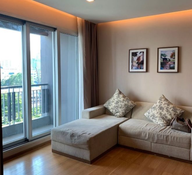 2 Bedrooms Condo for Sale in Asoke on Low Floor near MTR and Airport Link