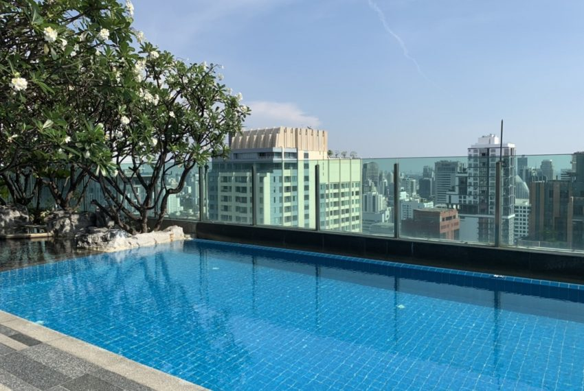 The Address Asoke 2 bed 2 bath- swimming pool