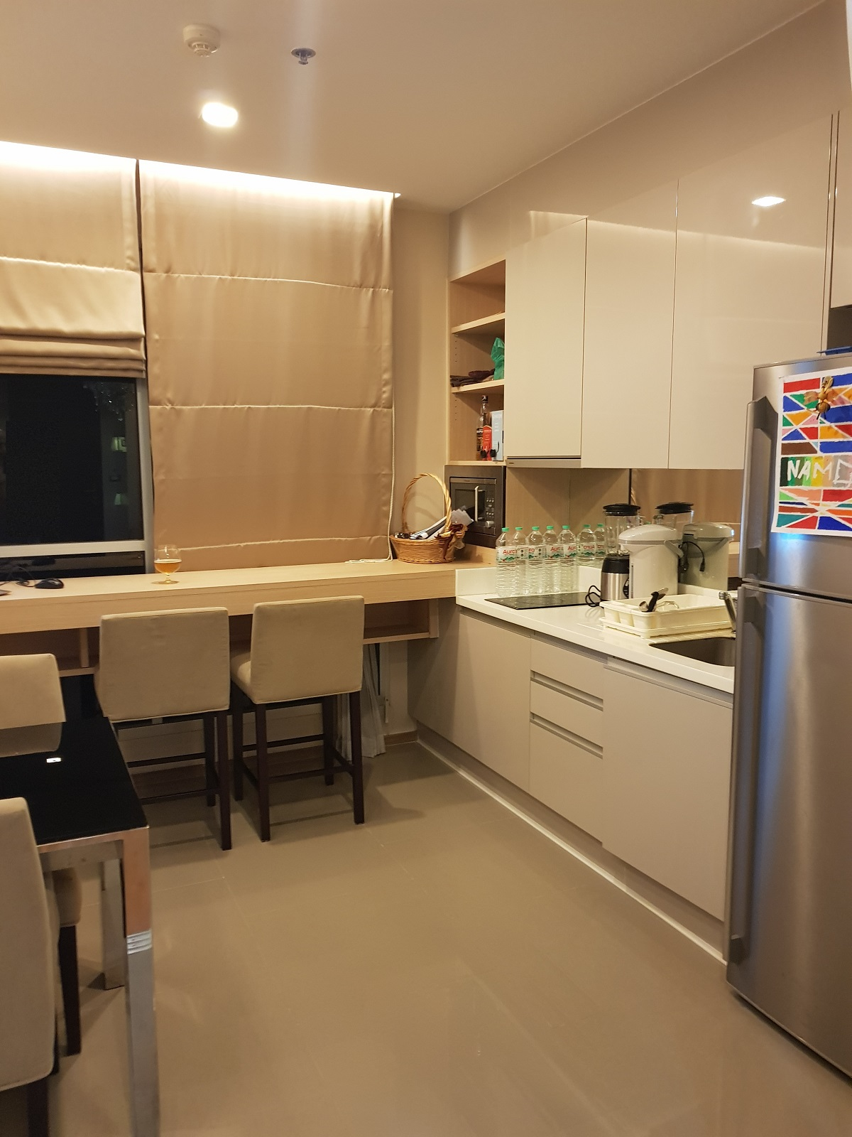 Condo on Top Floor for Sale Near MRT - The Best Layout 1-Bedroom Condo in The Address Asoke