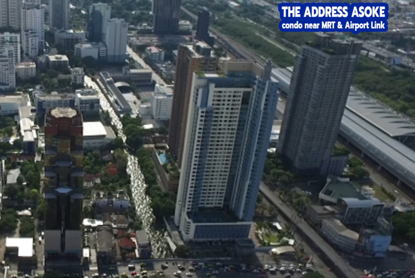 The Address Asoke condominium 1 - REMAX CondoDee