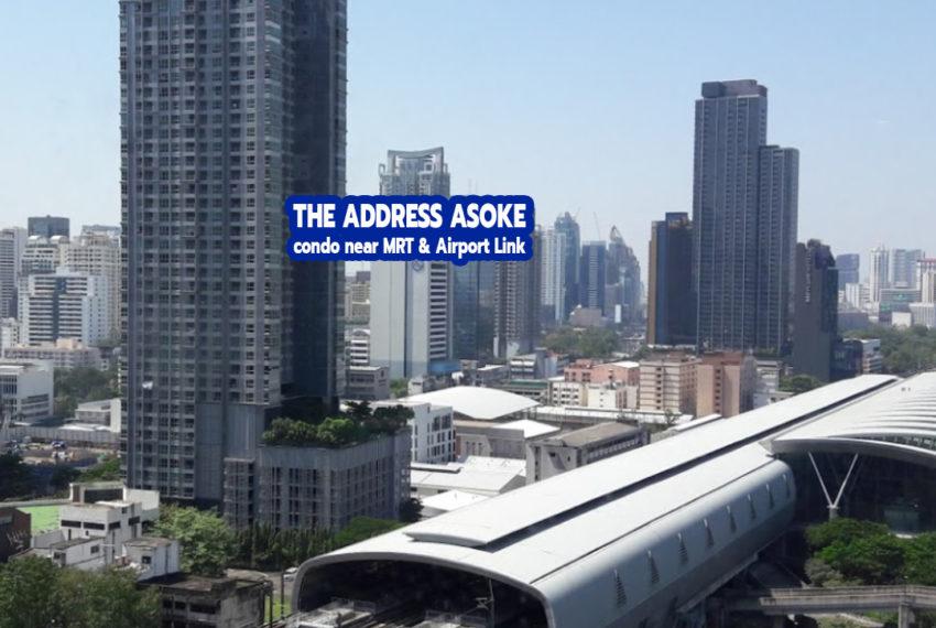 The Address Asoke condominium 2 - REMAX CondoDee