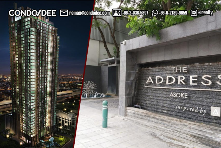 The Address Asoke condominium 5 - REMAX CondoDee