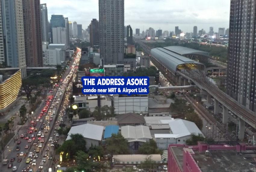 The Address Asoke condominium - REMAX CondoDee