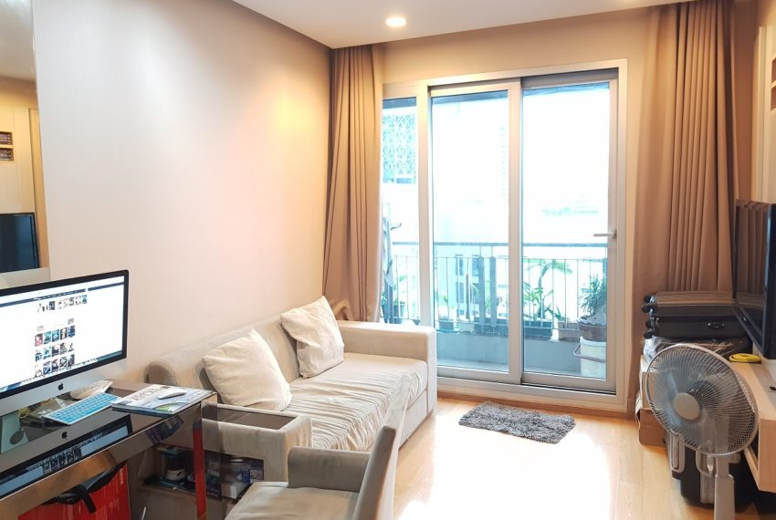 The Address Asoke - low floor - 1bedroom for sale - balcony