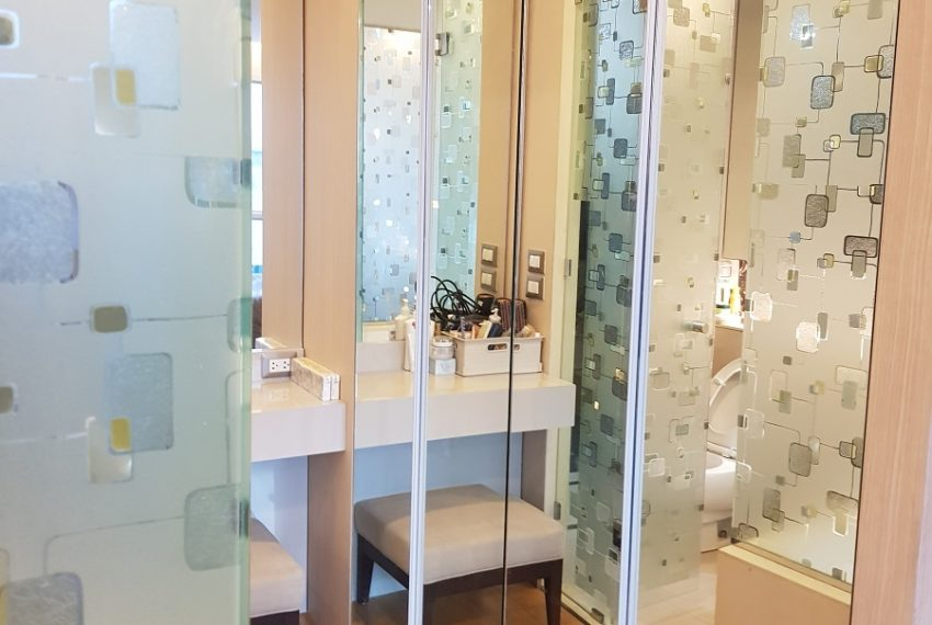 The Address Asoke - low floor - 1bedroom for sale - bathroom