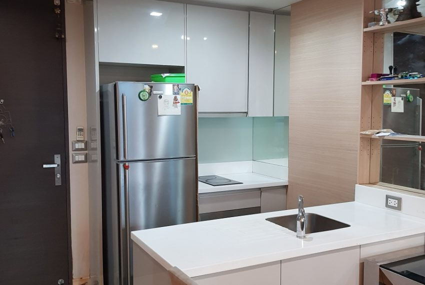 The Address Asoke - low floor - 1bedroom for sale - kitchen