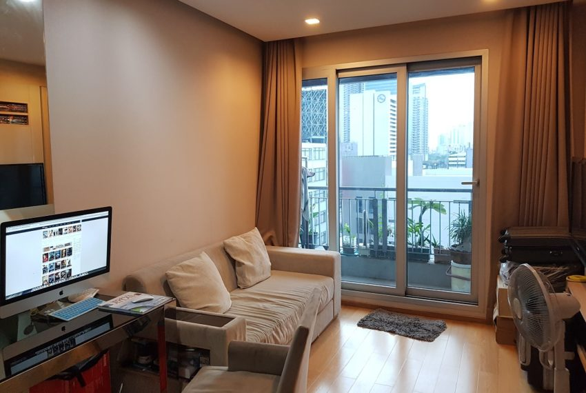 The Address Asoke - low floor - 1bedroom for sale - living