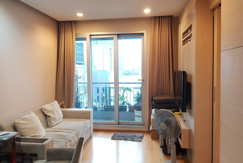 The Address Asoke - low floor - 1bedroom for sale - living room