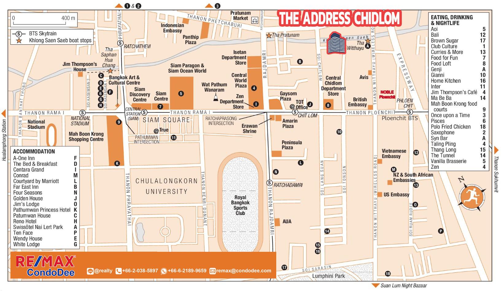 The Address Chidlom Condominium