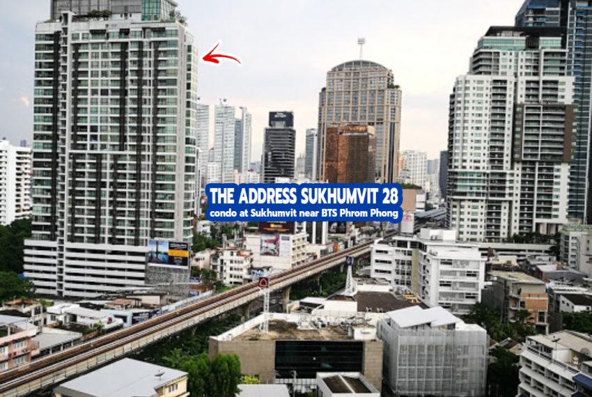 The Address Sukhumvit 28 1- REMAX CondoDee