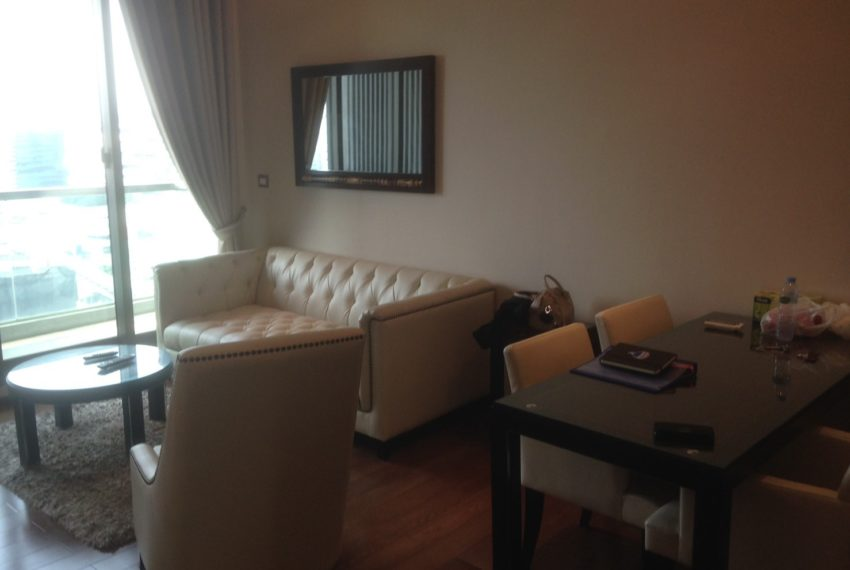 The Address Sukhumvit 28 - 2-bed 2-bath high floor - dinning