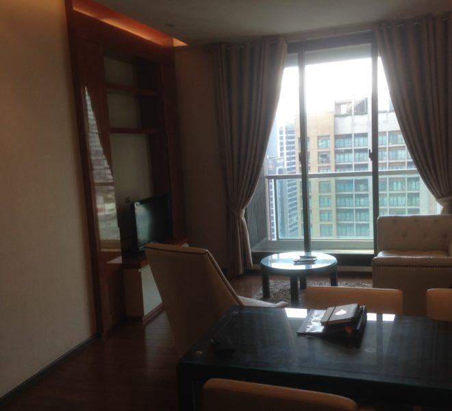 Condo near EMQuartier for sale - 2-bedroom - high floor - The Adress Sukhumvit 28