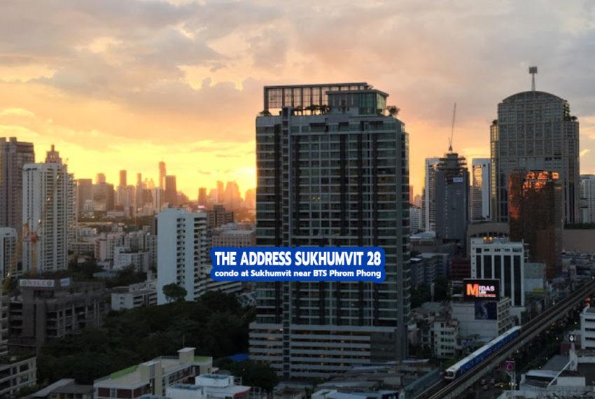 The Address Sukhumvit 28 3- REMAX CondoDee