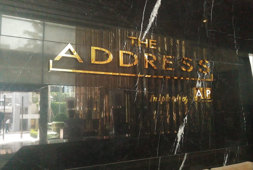 The Address Sukhumvit 28 - entrance