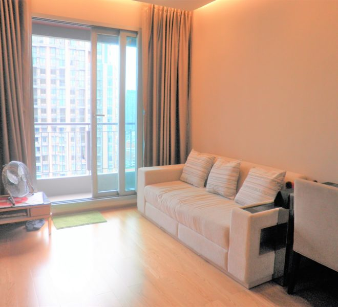 Rental on High Floor in The Address Asoke - Convenient