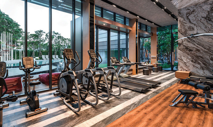 The BASE Garden Rama 9 Condominium - fitness