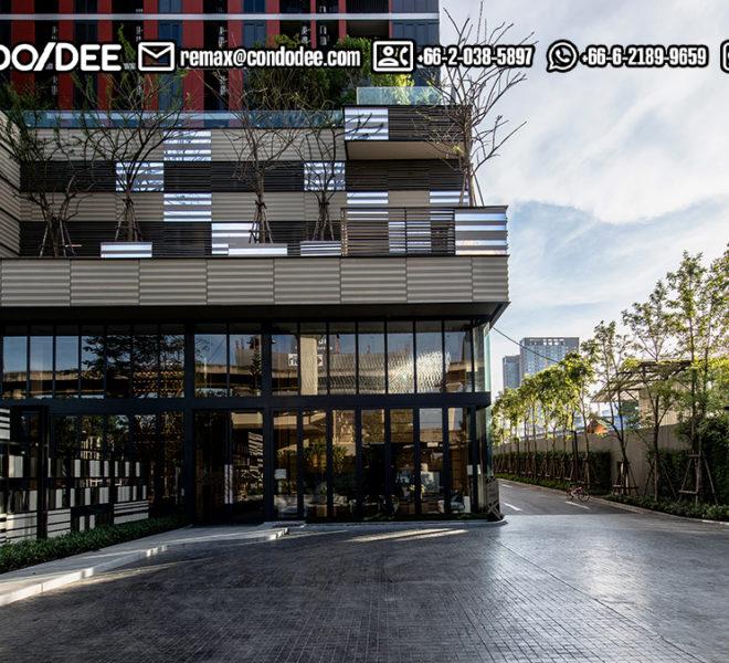The BASE Garden Rama 9 Condominium - parking