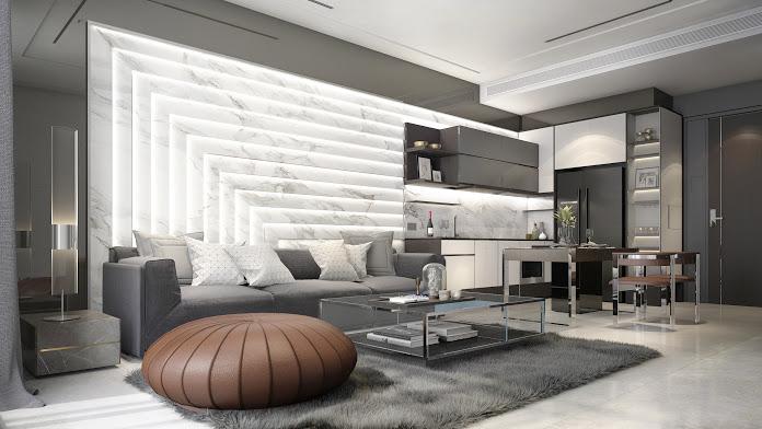 The Bangkok Thonglor - 1-bedroom living