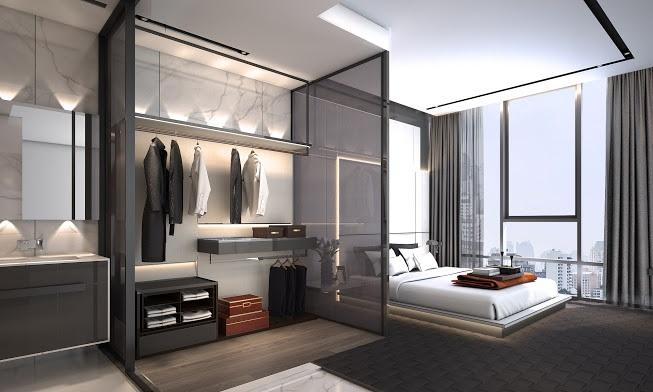 The Bangkok Thonglor - 2 bedroom master bedroom 2