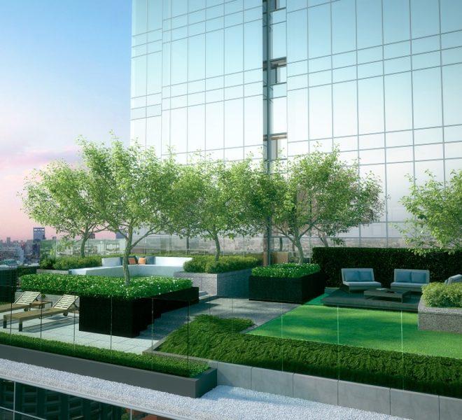 The Bangkok Thonglor - garden 22th floor
