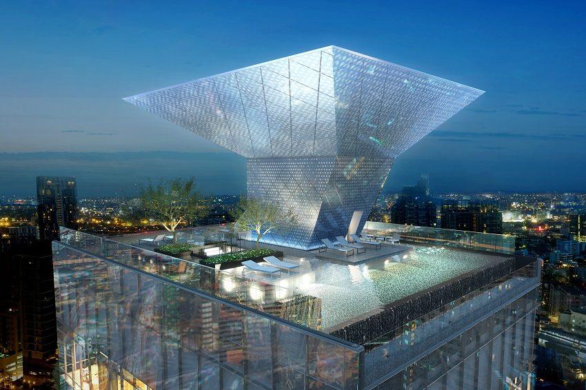 The Bangkok Thonglor - sky swimming pool