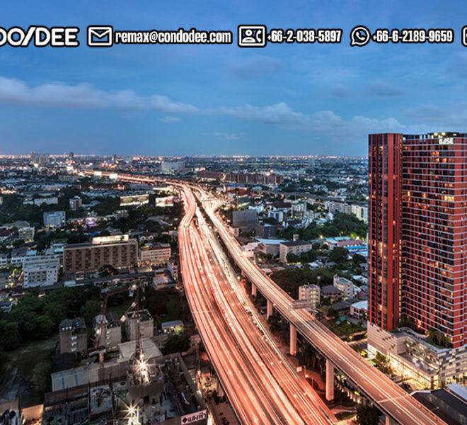 The Base Garden Rama 9 condominium - REMAX CondoDee
