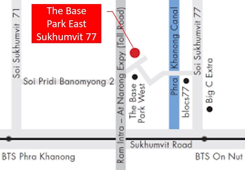 The Base Park East Sukhumvit 77 Condominium Near On Nut BTS