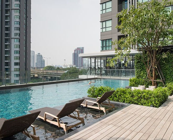 The Base Park East Sukhumvit 77 Condominium Near On Nut BTS
